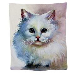 Cute Cat Wall Tapestry