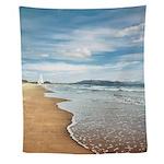 Sandy Beach Wall Tapestry