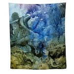 Abstract Sea Bottom Wall Tapestry
