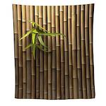 Bamboo Wall Tapestry