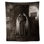 Gothic Ruins Wall Tapestry