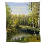 Beautiful Spring Painting Wall Tapestry