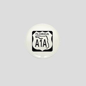 A1A Florida Mini Button