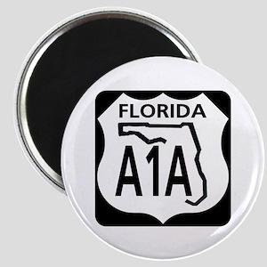 A1A Florida Magnet