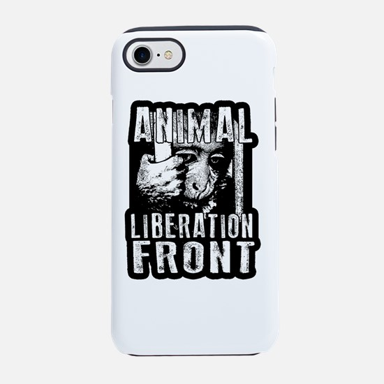 Animal Liberation Front - Ch iPhone 8/7 Tough Case
