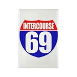 Intercourse 69 Rectangle Magnet (100 pack)