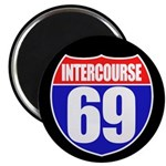 Intercourse 69 Magnet
