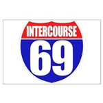 Intercourse 69 Large Poster