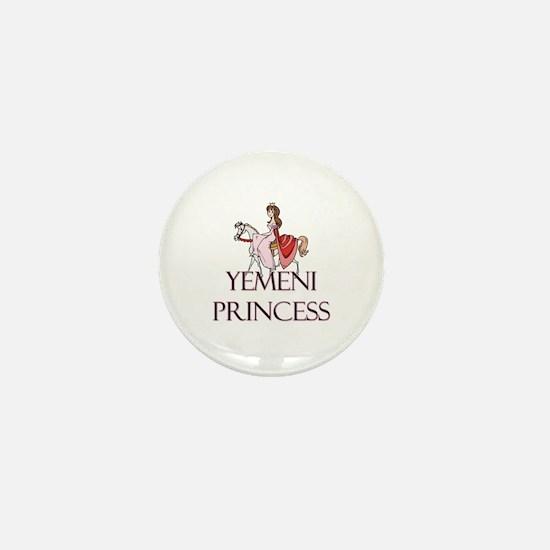 Yemeni Princess Mini Button