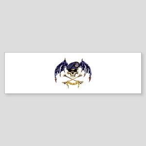 SF Batwings Bumper Sticker