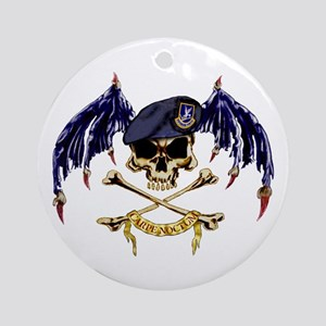 SF Batwings Ornament (Round)