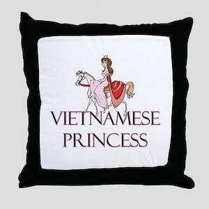 Vietnamese Princess Throw Pillow
