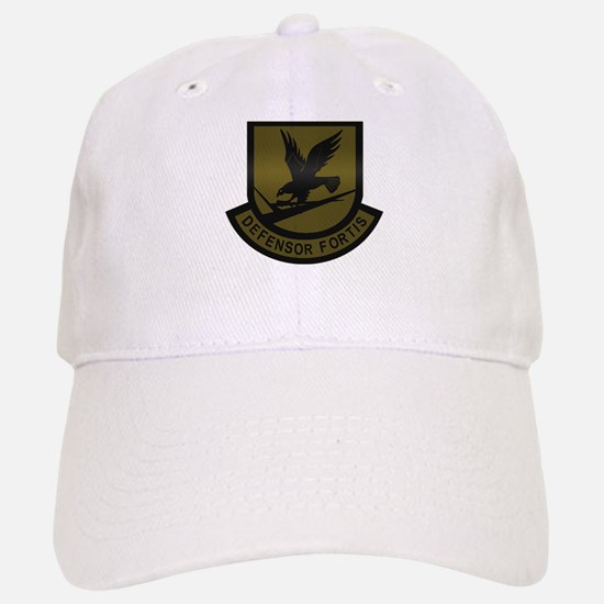 Subdued Defensor Fortis Baseball Baseball Cap