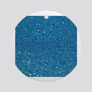 Glitter_013_by_JAMColors Round Ornament