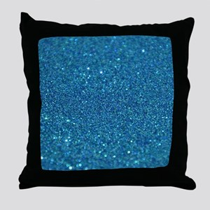 Glitter_013_by_JAMColors Throw Pillow