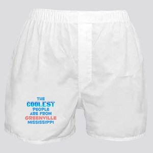 Coolest: Greenville, MS Boxer Shorts