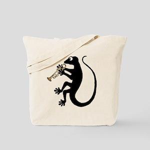 Gecko Trumpet Tote Bag