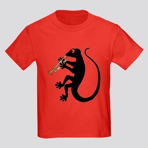 Gecko Trumpet Kids Dark T-Shirt