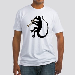 Gecko Trumpet Fitted T-Shirt