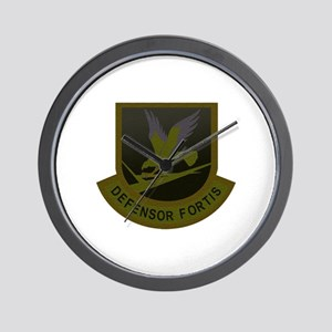Subdued Defensor Fortis Wall Clock