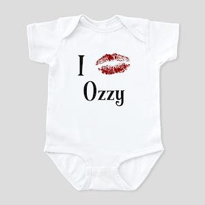 I Kissed Ozzy Infant Bodysuit