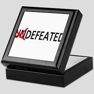 Defeated Keepsake Box