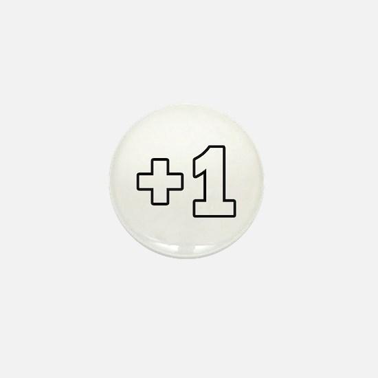 +1 Plus 1 Mini Button