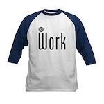 At Work @ Work Kids Baseball Jersey
