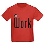 At Work @ Work Kids Dark T-Shirt