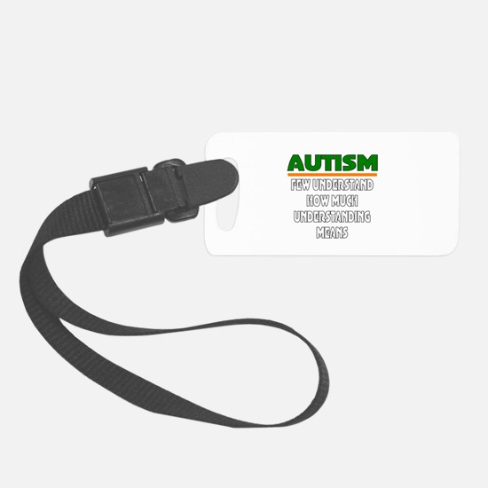 Autism support Luggage Tag