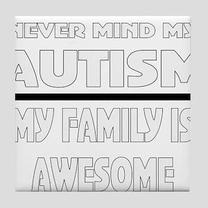 Cute autism Tile Coaster
