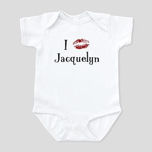I Kissed Jacquelyn Infant Bodysuit