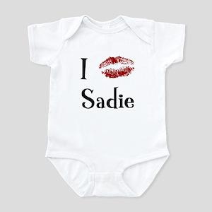 I Kissed Sadie Infant Bodysuit