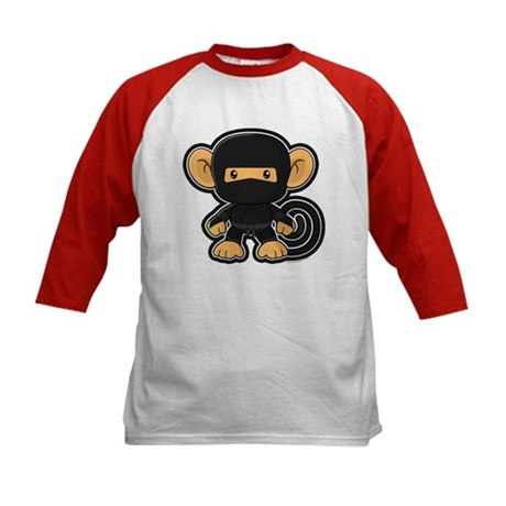Ninja Saru Kids Baseball Jersey