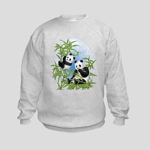 Panda Bears Kids Sweatshirt