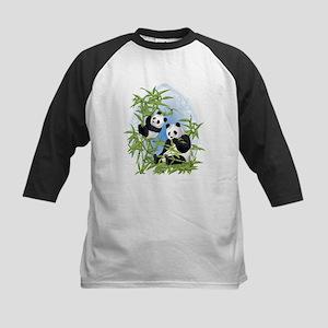 Panda Bears Kids Baseball Jersey