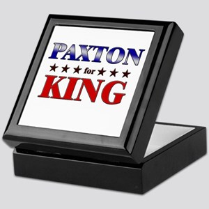 PAXTON for king Keepsake Box