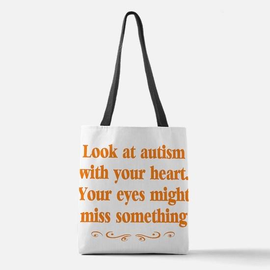 Autism teacher Polyester Tote Bag
