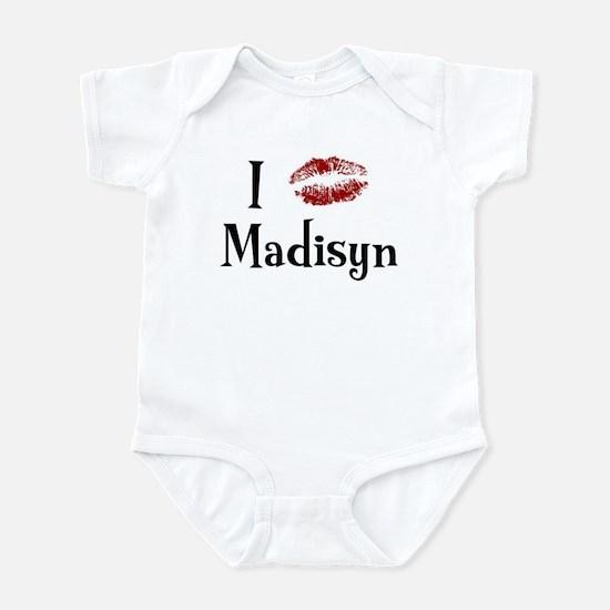 I Kissed Madisyn Infant Bodysuit