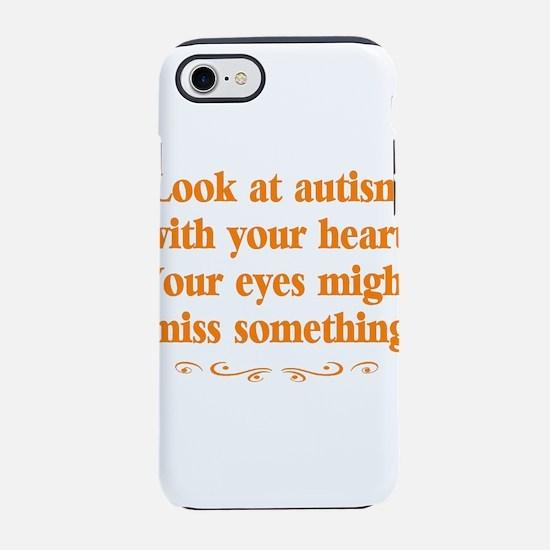 Autism teacher iPhone 8/7 Tough Case