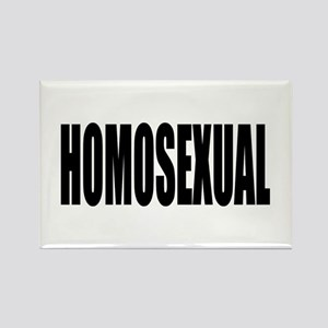 HOMOSEXUAL Rectangle Magnet
