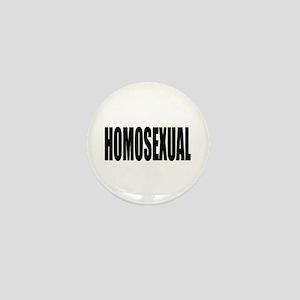 HOMOSEXUAL Mini Button