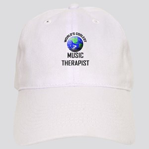 World's Coolest MUSIC THERAPIST Cap