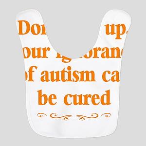 Autism teacher Polyester Baby Bib