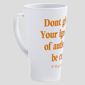 Autism teacher 17 oz Latte Mug