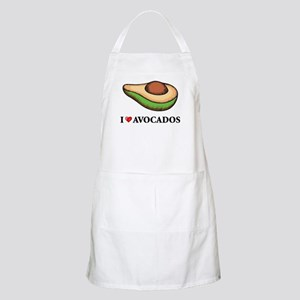 I Love Avocado BBQ Apron