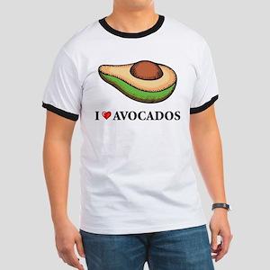 I Love Avocado Ringer T