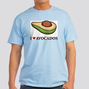 I Love Avocado Light T-Shirt