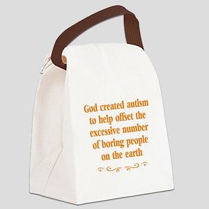 Autism teachers Canvas Lunch Bag