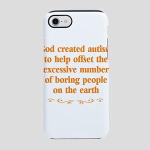 Autism teachers iPhone 8/7 Tough Case